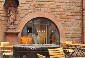Cafe Rodenstein Innenhof