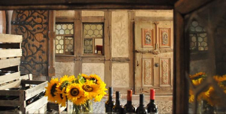 Cafe Rodenstein Innenraum Historische Einbauten
