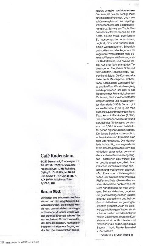 Kritik Rhein-Main geht aus